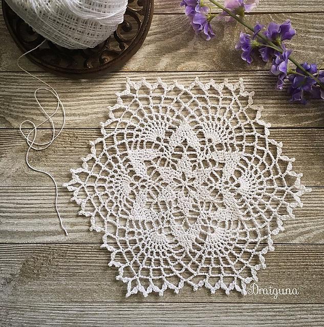 Starweave Doily Free Crochet Pattern Dailycrochetideas