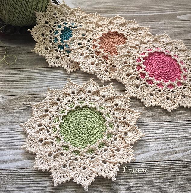 Sunmote Doily Free Crochet Pattern Dailycrochetideas