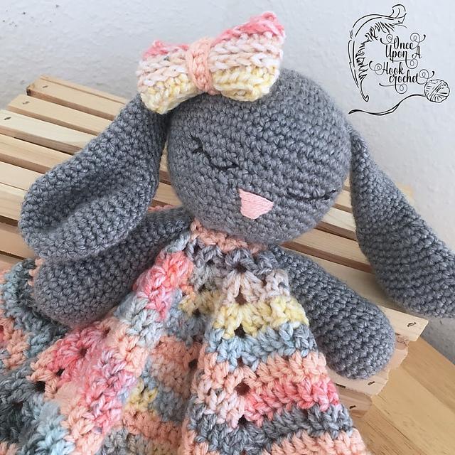 Bunny Lovey Toy Free Crochet Pattern Dailycrochetideas