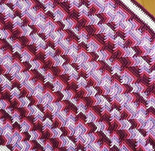 Nomad By Fate Blanket Free Crochet Pattern Dailycrochetideas