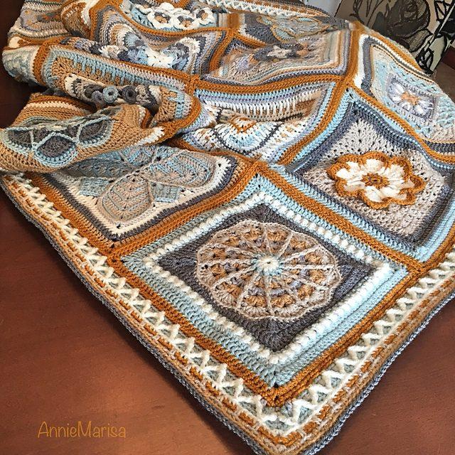 Border Zig Zag Blanket Free Crochet Pattern Dailycrochetideas