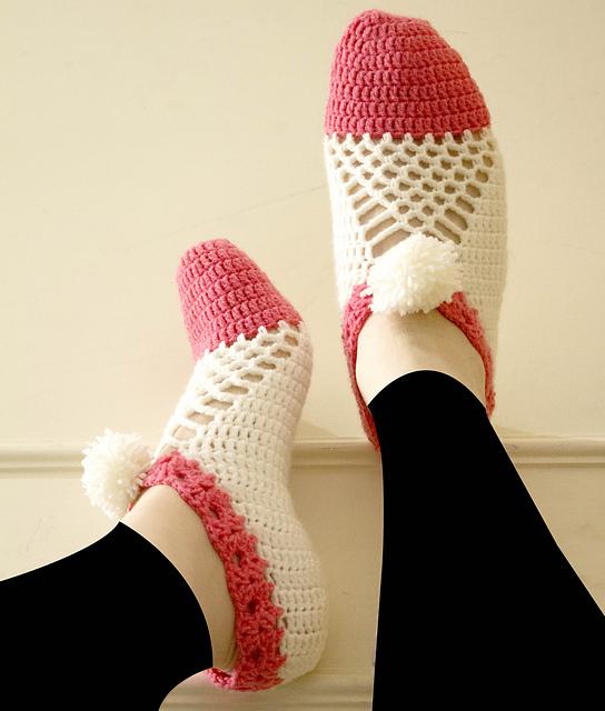 Cluster Crochet Slippers Free Crochet Pattern Dailycrochetideas