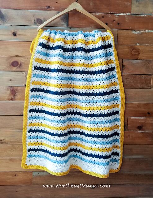 Easy Crochet Blanket Free Crochet Pattern Dailycrochetideas