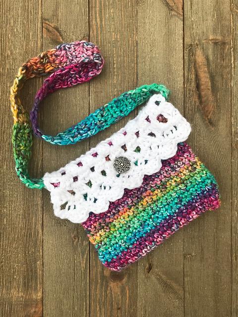 Little Miss Fancy Bag Free Crochet Pattern Dailycrochetideas