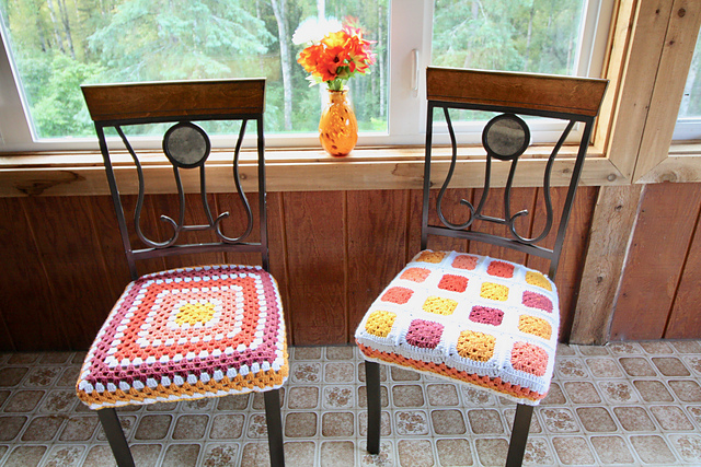 Fitted Chair Covers Free Crochet Pattern Dailycrochetideas