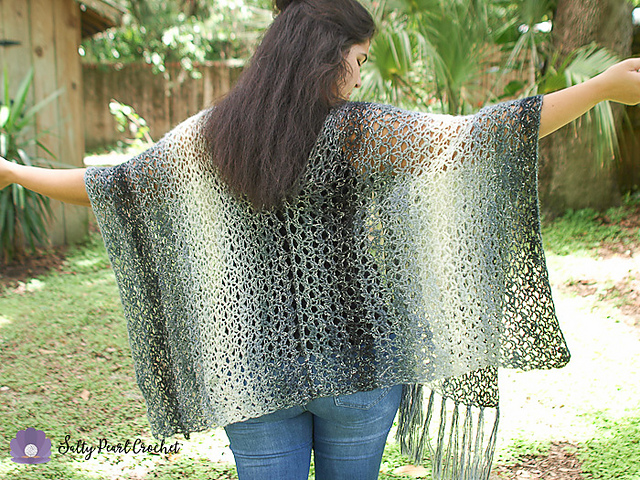 Lattice Kimono Cardi Free Crochet Pattern Dailycrochetideas