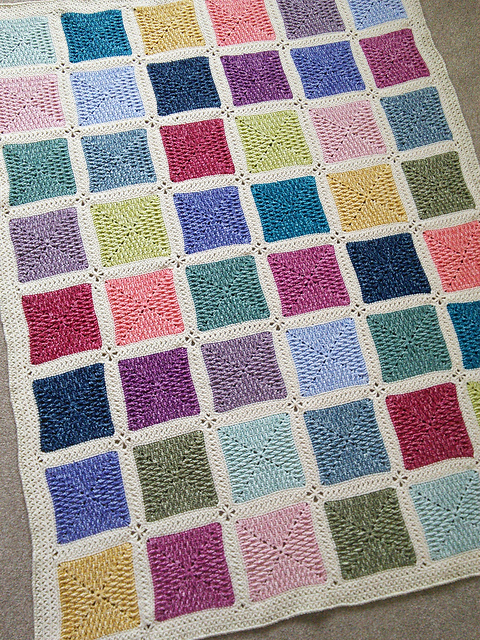 Textured Ripple Granny Square Free Crochet Pattern Dailycrochetideas
