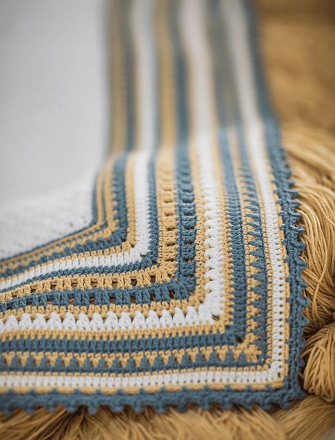 Ohlalala Baby Blanket Free Crochet Pattern2