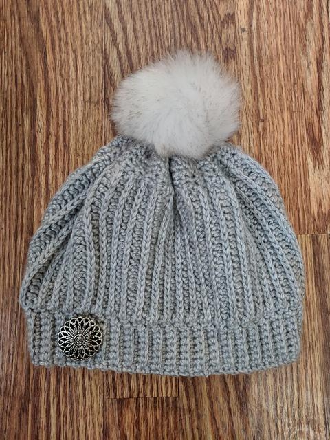 Vertical Ribbed Beanie Hat Free Crochet Pattern Dailycrochetideas