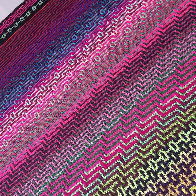 Havana Cal Blanket Free Crochet Pattern Dailycrochetideas