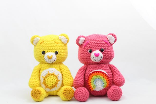How to crochet teddy bear face applique in 2 sizes?   !Crochet ...   427x640