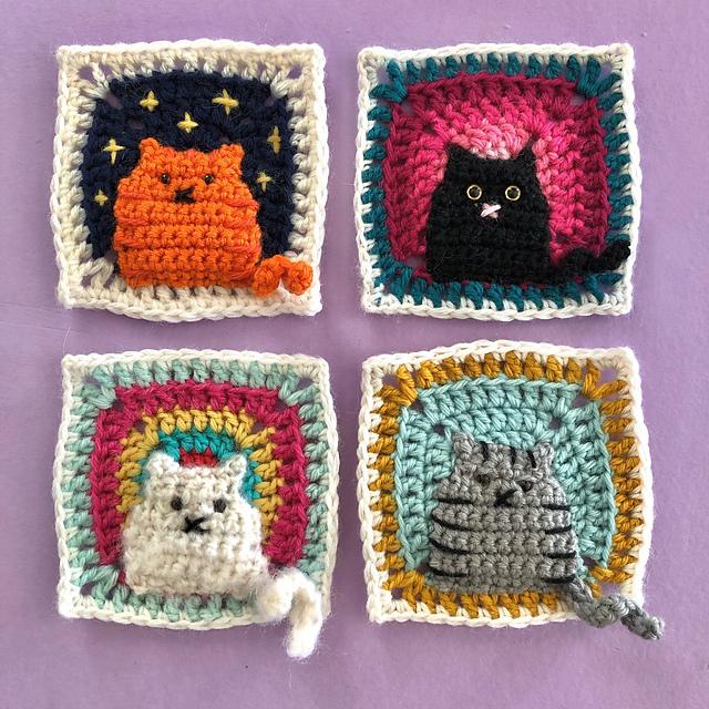 Free Crochet Cat Patterns - Crochet Now | 640x640