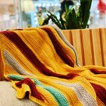 Co Tunisian Blanket Free Crochet Pattern