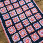 Sea Urchin Granny Square Blanket Free Crochet Pattern2