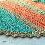 Simple Summer Shawl Free Crochet Pattern2