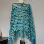 Skipping Pebbles Poncho Free Crochet Pattern2