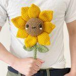 Sunny Saraloo the Sunflower Free Crochet Pattern