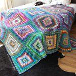 Bavarian Buster Blanket Free Crochet Pattern2