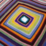 Echos of Color Blanket Free Crochet Pattern