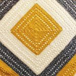Gold and Marble Blanket Free Crochet Pattern2