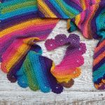 Life in Colour Shawl Free Crochet Pattern2