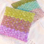 Mermaid Dreams Pillow Free Crochet Pattern