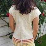 Simple Blouse Free Crochet Pattern2