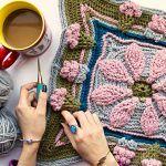 Spring Curtsy Blanket Free Crochet Pattern