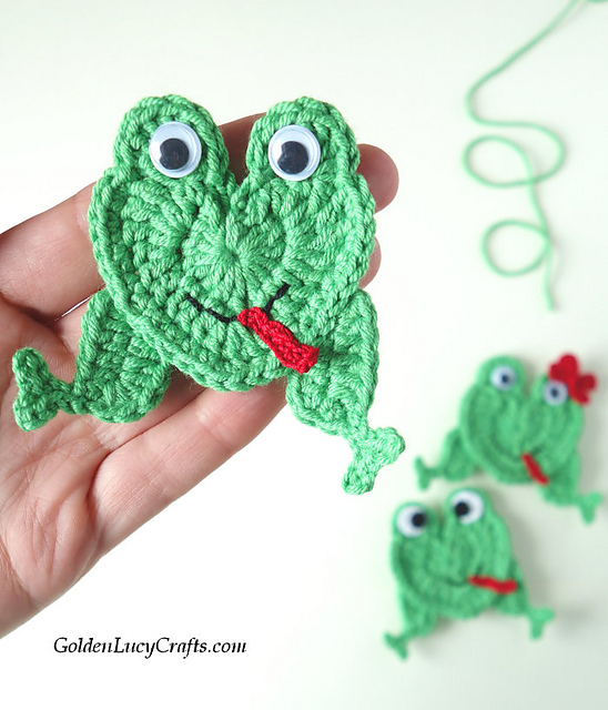 Crochet Amigurumi Doll (dressed as frog) - Part 1 - YouTube | 640x548
