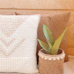 Arrowma Pillow Free Crochet Pattern2