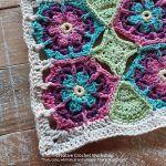 Blossom Honeycomb Square Free Crochet Pattern2