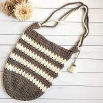 Coffee & Cream Market Bag Free Crochet Pattern2