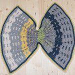 Garden Fence Blanket Free Crochet Pattern