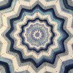 Ombre Star Blanket Free Crochet Pattern