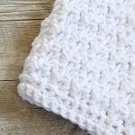 Pom Blanket Free Crochet Pattern2