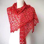 Rua Shawl Free Crochet Pattern
