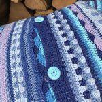 Summerstripes Pillow Free Crochet Pattern2