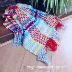Tartan Blanket Free Crochet Pattern