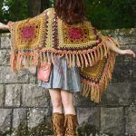 Kismet Poncho Free Crochet Pattern2