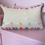 Rainbow Pops Pillow Free Crochet Pattern2