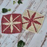 Solaris Square Free Crochet Pattern