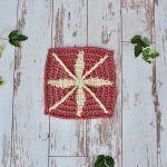 Solaris Square Free Crochet Pattern2