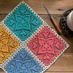 Sweetheart Square Free Crochet Pattern