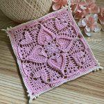Sweetheart Square Free Crochet Pattern2