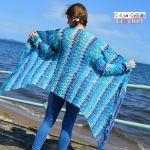 Waterfall Cardigan Free Crochet Pattern