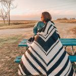 Fractal Throw Blanket Free Crochet Pattern2