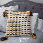Litrik Pillow Free Crochet Pattern2