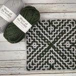 April Interlocking Square Free Crochet Pattern