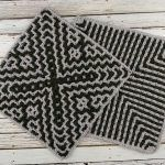 April Interlocking Square Free Crochet Pattern2