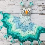 Baby Owl Lovey Blanket Free Crochet Pattern2